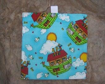 Noah's Ark Reusable Sandwich Bag, Reusable Snack Bag with easy open tabs-Noahs Ark