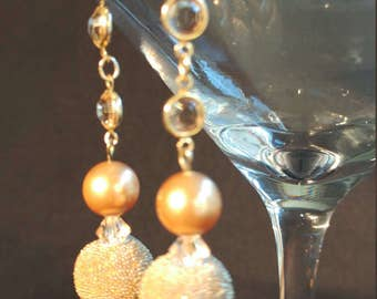 EA002387 Long Gold Dangle Earrings from the Kendra Line