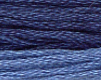 PRESIDENTIAL BLUE 0260 : Gentle Art GAST hand-dyed embroidery floss cross stitch thread at thecottageneedle.com