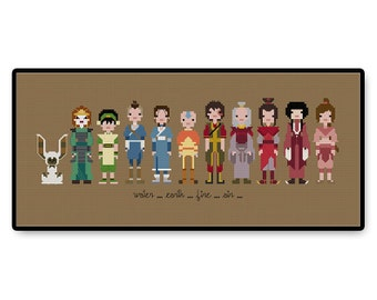 Avatar: The Last Airbender - Cross Stitch PDF Pattern