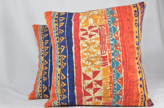 Handmade Vintage Throw Pillows : Handmade Vintage Throw Pillow Cover Decorative Pillow