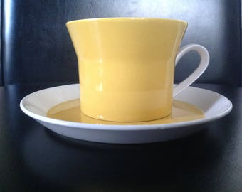 20 piece Mikasa Duplex cups and saucers
