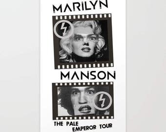 Marilyn Manson - The Pale Emperor Tour Poster