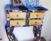 Eclectic console table fr...