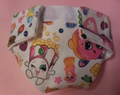 Ready to Ship SIZE #2 cloth Doll Diaper Shopkins adjusts washable fits bitty baby some baby alive all gone American Girl doll & more