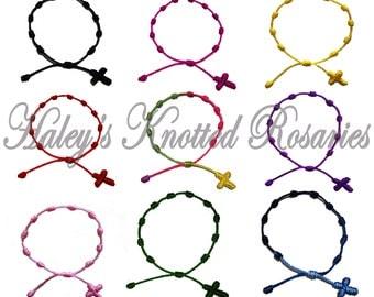 50 Knotted Rosary Bracelets