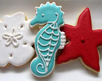 Party by the Sea Cookies 4 dozen