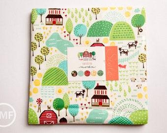 Farm Fun Layer Cake, Stacy Iest Hsu, Moda Fabrics, Pre-Cut Fabric Squares, Ten Inch Fabric Squares, 20530LC