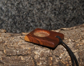 Olive Wood Pendant, for your project