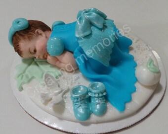 Edible Princess Dress Cake Topper made of Vanilla Fondant the
