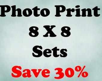 8x8 Prints, 8x8 Print Sets, Set of 8x8 Prints, 8x8 Photo Set, Save up to 30% off, Photo Sets, Choose your own set
