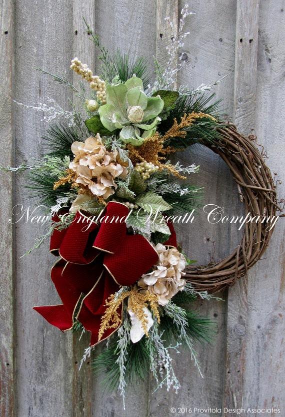 Christmas Wreath Holiday Wreath Elegant Christmas Wreath