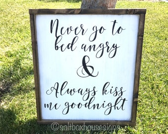Angry and Goodnight Sign