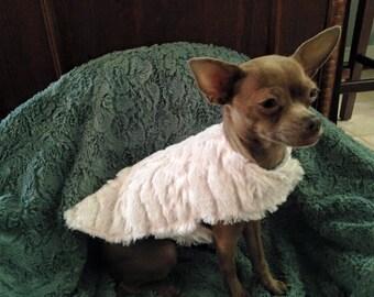 Super Soft Minky Dog Jacket