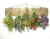 Fragrant Dried Herb Rack