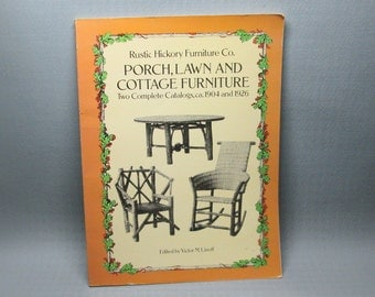 art book rustic hickory furniture company porch lawn and cottage furniture linoff