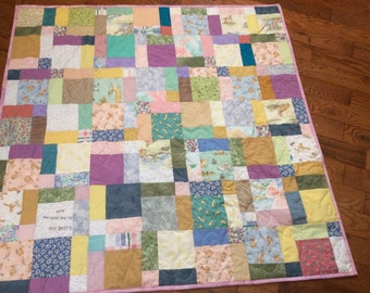 Guess how much I love you - baby quilt