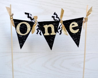 Wild ONE Cake Banner - cake topper - girl cake topper - First Birthday Cake Topper - Cake Bunting - Where the wild things are party