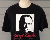 Early 1990's George Carlin t-shirt, XL