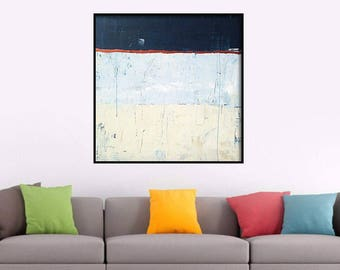 48x48 Inch Very Large Painting Abstract Painting Large abstract painting. Large wall art Abstract Art Textured Painting. XL Painting Canvas
