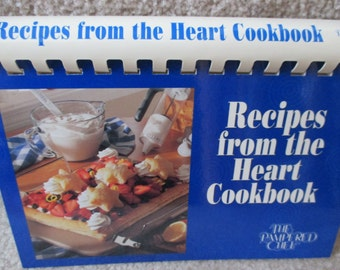 Vintage Pampered Chef Recipes from the Heart Cookbook