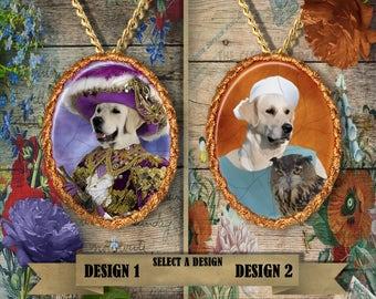 Golden Retriever Jewelry Golden Retriever Dog Golden Retriever Pendant Golden Lovers Golden Retriever Charm Custom Dog Jewelry Nobility Dogs
