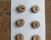 1/4 Inch Arbutus Tree Buttons