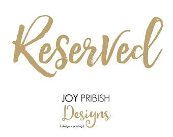 Print Listing: 45 invites/envelopes