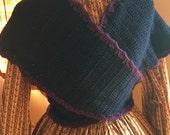 Sontag in crochet wool