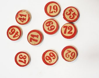 10 Vintage Lotto Numbers