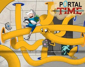 Portal Time - A4 Print - Thick 350gsm