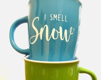 I smell snow- gilmore girls vinyl decal