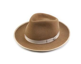 Camel Teardrop Top Hat