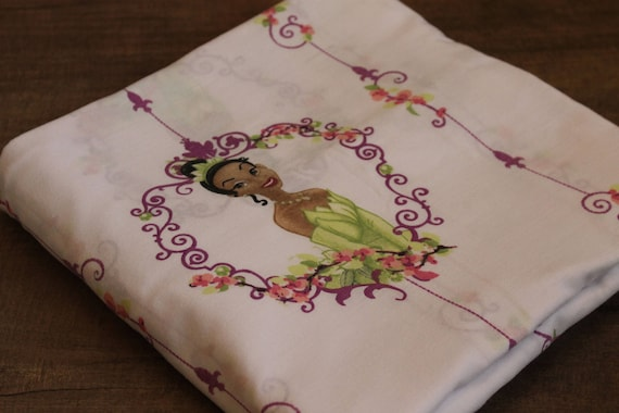 Disney Princess Tiana TWIN flat sheet