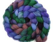 Hand dyed roving - 21.5μ Merino wool combed top spinning fiber - 4.0 ounces - Passage of Time 1