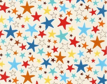 Adventure Stars Allover from Robert Kaufman's Monsters Collection by Sea Urchin Studios
