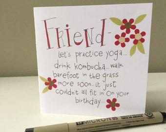 4.5  Card - Friend Birthday
