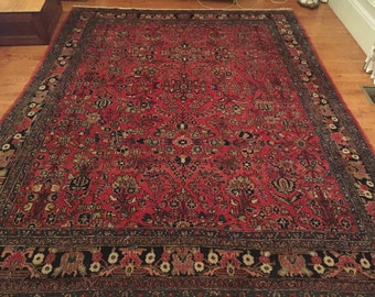 Antique Persian Rug / Large