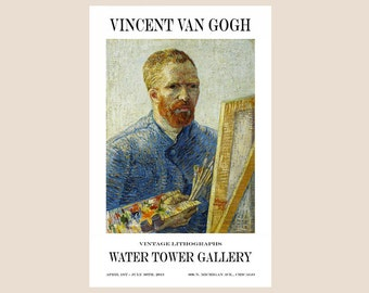 Gallery Poster - Van Gogh - Self Portrait - Print - Poster - Color