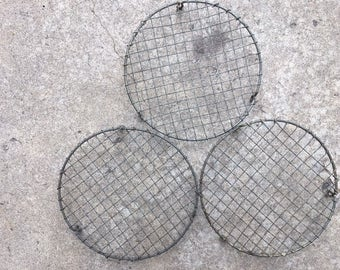 """3 Wire French Cooling Racks Trivets 8.5"""""""