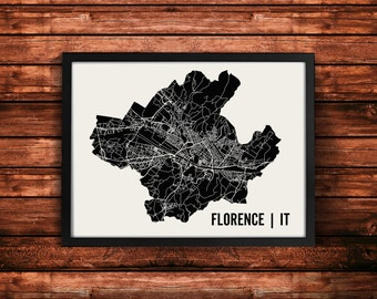 Florence Map Art Print | Florence Print | Florence Art Print | Florence Poster | Florence Gift | Wall Art