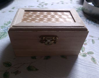 Small Wooden Box from Germany