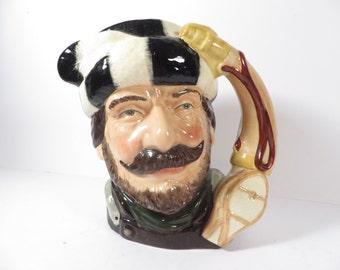 Vintage Royal Doulton Trapper Toby Jug  - Royal Doulton Large Toby Jug