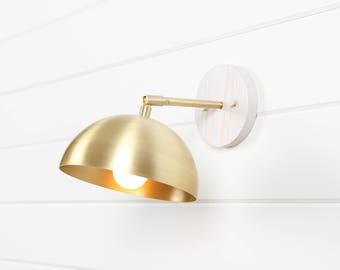 Sconce, Modern Wall Lamp, Sconce, UL Listed- Orb Sconce