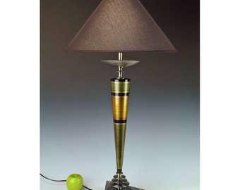 Handmade lamp. Original design by Frank Lüedtke. #277.