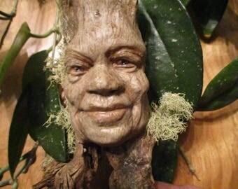 Ent, tree spirit, Game of throws tree man, Green man sculpture