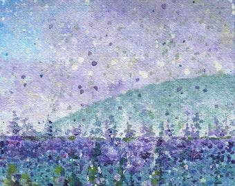 "Canvas Winterscape A 5x7"""
