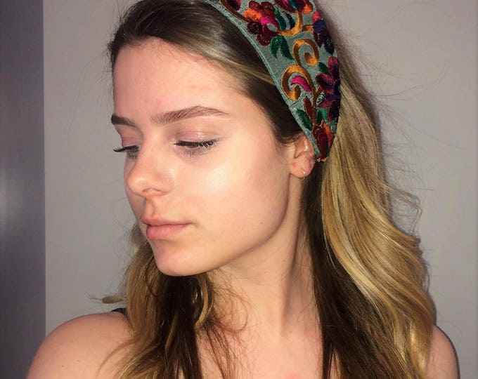 Hippie headband,Boho Headband,Bohemian Headband,Turban,Fabric headwrap,,Women Head Wrap,Wide Headband,Hair Accessorie,Women Headband