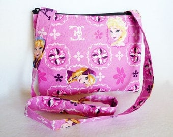Kid's Crossbody Bag:Disney Frozen