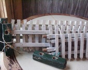 Antique Toy Train or Garden Fencing